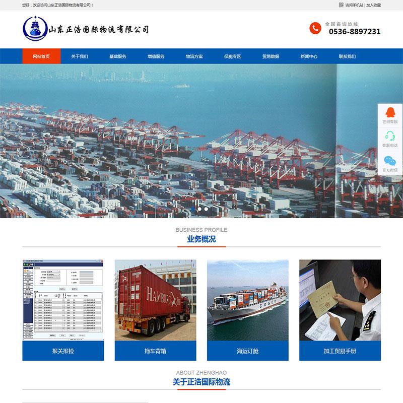 国际物流中文企业网站